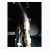 エアコン高圧ホース修理