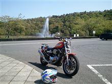 ゴールデンウィーク初日  久々のバイク(*^^*)