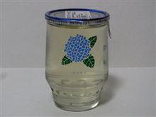 カップ酒151個目 高砂フラワーカップ(アジサイ) 金谷酒造【石川県】