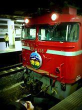 iPadで鉄撮り/駅撮り(2013/4/27)寝台特急「鳥海」@上野駅