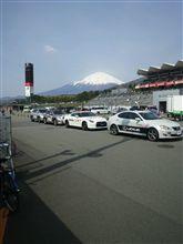 パドックパスからの富士山…