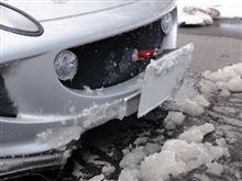 エリーゼで除雪作業をしてはいけません。・゚・(ノД`)・゚・。