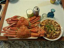 蟹+麻婆豆腐