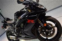 漆黒のブラックソリッド・GSX-R600のガラスコーティング【リボルト静岡】