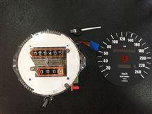 Z1のオドメーター修理
