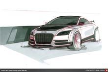 Audi TT  ウルトラクワトロのイラスト