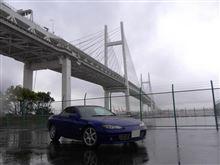 横浜は今日も雨