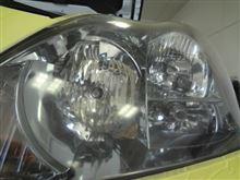ヘッドライト磨きも施工店を選ばないとエライことになります コーティング 大阪 NOJ