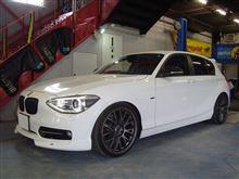 BMW 1Series F20にお取付け