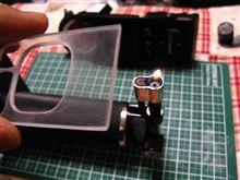 [エクシーガtS] 樹脂の曲げ加工の巻(PET樹脂+LED ドアミラーSW照明 Vol.4)