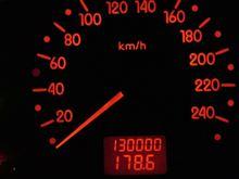 130,000km...