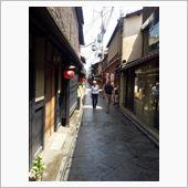 京都旅行で (鴨川をどり)