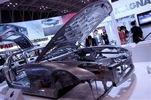 【JSAE2013】人とくるまのテクノロジー展2013 MAGNA Steyr  Mercedes SLS AMG Aluminum Space Frame