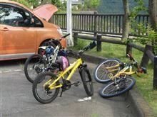 丹沢湖でサイクリング