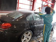 BMW640iグランクーペにクォーツガラスコーティングを施工しました。