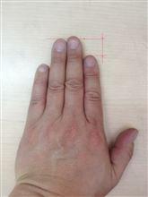 指の長さで色々と判るそうですね