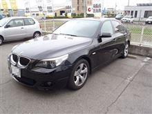 メンテナンスは大事...BMW E61 530 ビルフラ+パワーエアコン