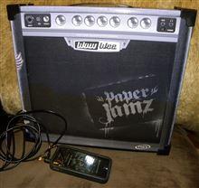 ギターのアンプ型 激安スピーカー