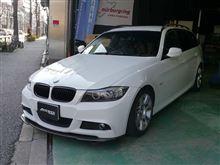 BMW 3Series Turing E91にお取付け