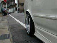 オデッセイ オーバーフェンダー 愛知県豊田市 倉地塗装 KRC