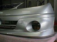 エスティマ 純正バンバー2個1加工 愛知県豊田市 倉地塗装 KRC