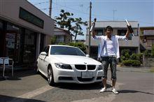 オレンジWOLF サスペンションキット BMW E90 91 92 4気筒用 完成!