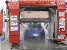 洗車⑤は・・・