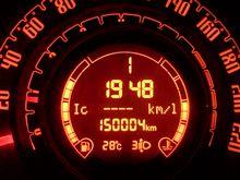 150,000キロ走行