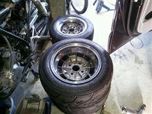 タイヤ組んじゃいました。