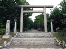 上川神社までポタリング