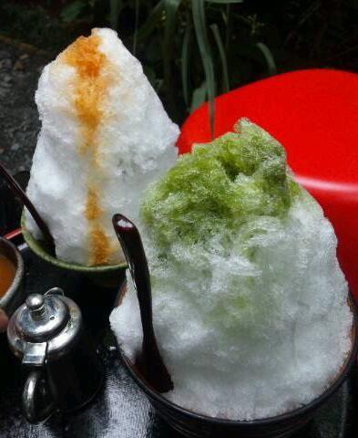 長瀞 かき氷