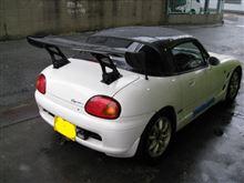 【田中オートサービス】カプチーノ(EA11R)フロントキャンバー加工バージョン2ww