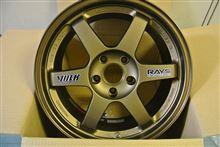 今日のホイール RAYS VOLK RACING TE37(レイズ ボルクレーシング TE37) -スバル インプレッサ用-