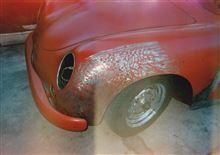 356 Speedster のレストア (板金作業)