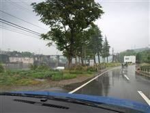 富山県の神三ダムにて