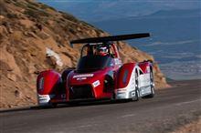 ミツビシ MiEV Evolution Ⅱ パイクスピーク 電気自動車 クラス の 予選 で 1位 2位 上位 独占 ・・・・