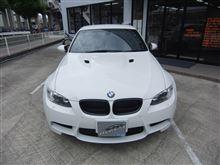 BMW M3 入庫(^^)