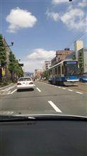 熊本…路面電車