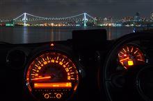 久しぶりの東京深夜徘徊 ~ レインボー ぐるぐる&晴海