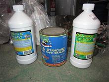 燃料タンクシーラーと洗浄剤たち