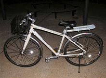 自転車のスポークを塗装しました。