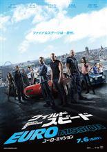 今日は、映画鑑賞「ワイルド・スピード EURO MISSION」を観ました♪
