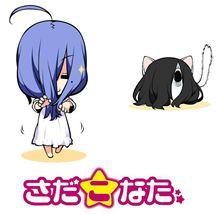 【らき☆すた】泉こなたと映画『貞子3D2』の貞子がコラボ決定! コラボキャラ「さだこなた」の関連グッズが今後販売予定!【さだこなた】