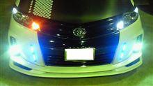 今日は JEWEL LED WINKER POSITION プレミアム T20タイプを フロントのウインカーにWHITEでウインカーONでオレンジ点灯に仕込んでみました