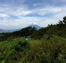 箱根峠から富士山