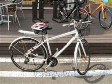 自転車のヘルメットを購入しました。