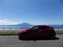 北海道はイイ天気 at 支笏湖