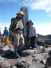 初の富士登山