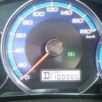 祝!?10万km!?(お祝いなのか?)