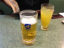 夏はビールだよね〜(^ ^)